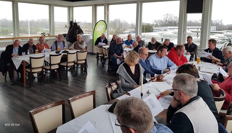 Hauptversammlung des OV Kiel 2019